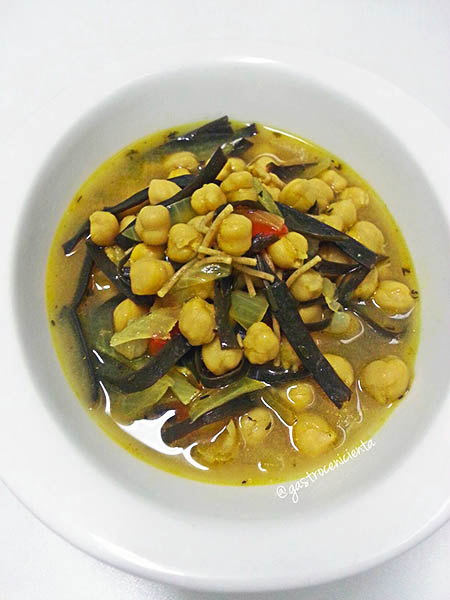 Guiso marinero vegano, de GastroCenicienta