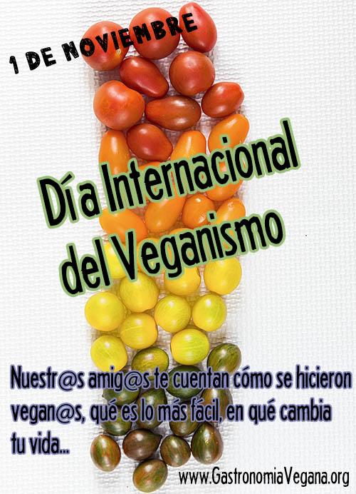 Día Internacional del Veganismo 2015 - GastronomiaVegana.org