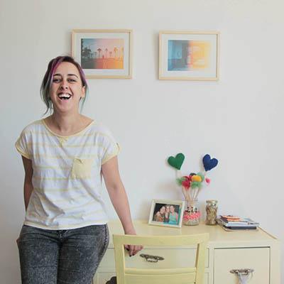 Maggie Sagarra, de Caramelos de Lima