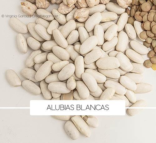 Alubias blancas - Variedades de judías - Cómo cocinar con legumbres - GastronomiaVegana.org