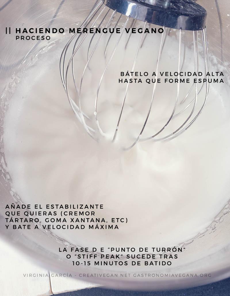 Tutorial: merengue vegano con aquafaba - GastronomiaVegana.org