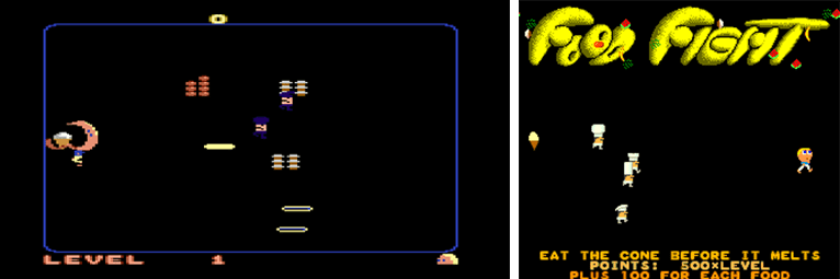 Food Fight (Atari 1983)