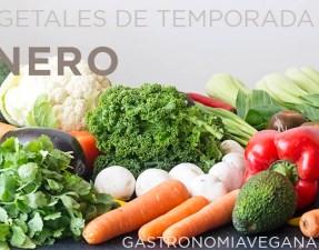 Vegetales de temporada en enero - GastronomiaVegana.org