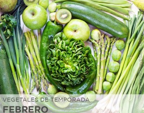 Vegetales de temporada en febrero - GastronomiaVegana.org