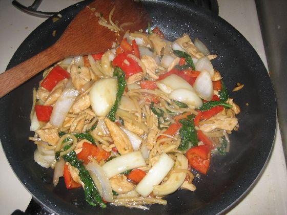 thai basil chicken complete