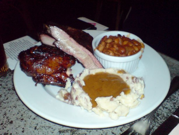sugarhouse barbeque chicken and ribs