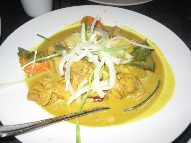 indochine chicken curry