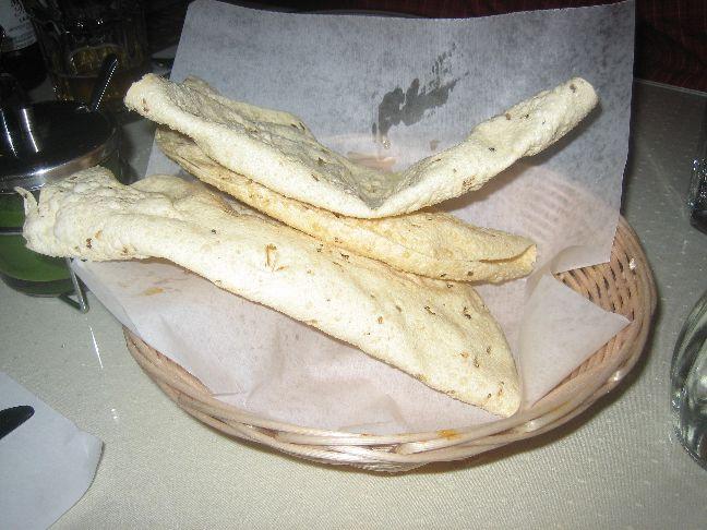ganesh indian cuisine poppadoms