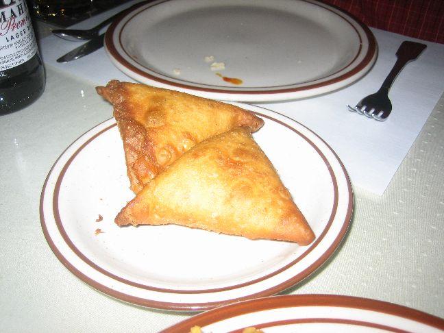 ganesh indian vegetable samosa