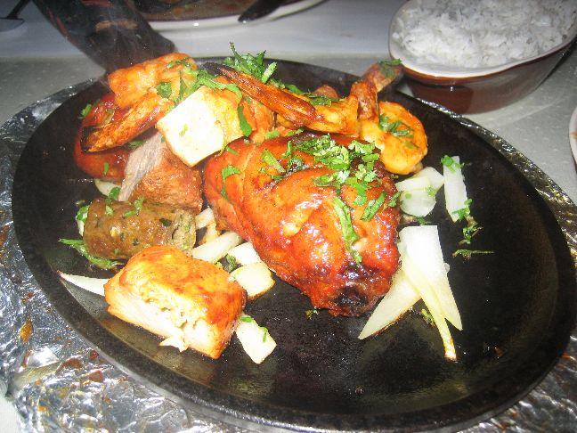 ganesh indian cuisine mixed tandoori grill