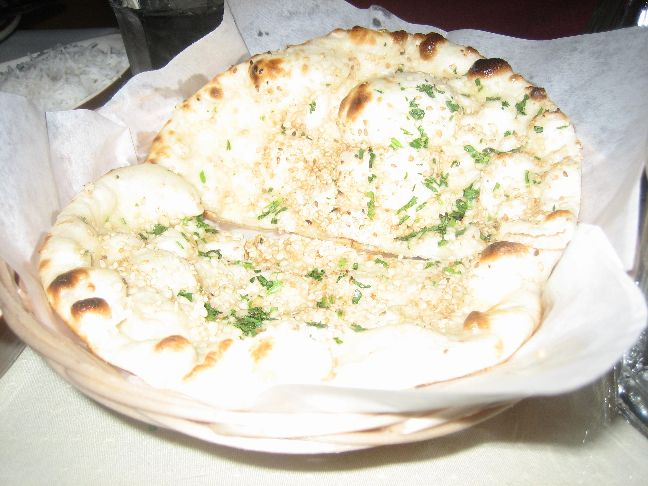 ganesh indian cuisine garlic naan