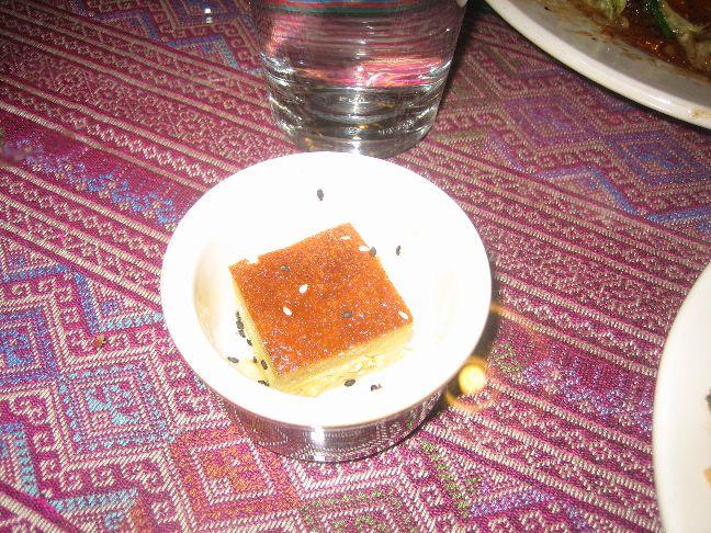 thai lotus tofu dessert