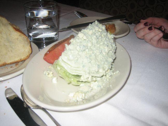 spencers half caesar salad