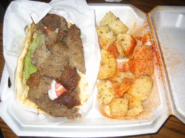 best chicken gyro and potatoes