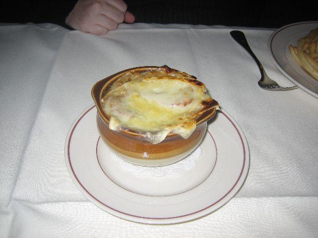 the paris onion soup