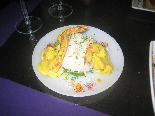 meditrina curry lime prawns