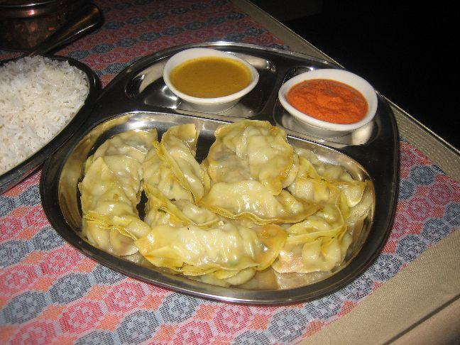 the kathmandu chicken momos