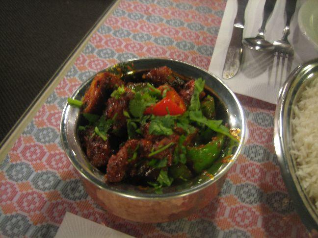 the kathmandu chicken chilli