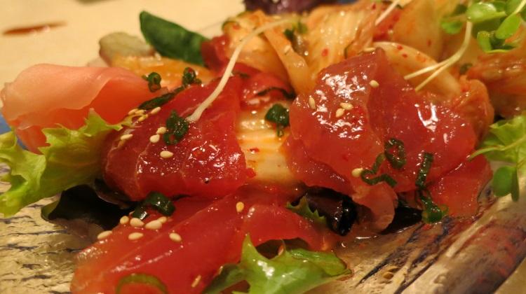 kyoto maguro kimchee