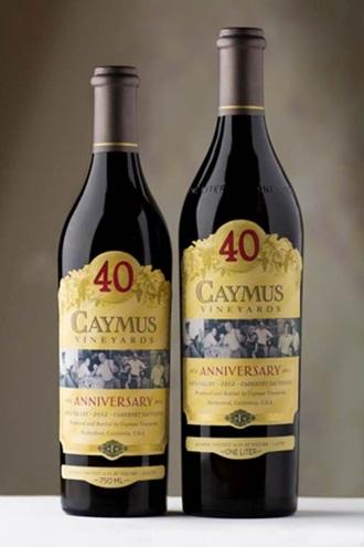 caymus 40th anniversary