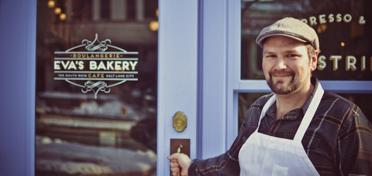 evas bakery in slc and chef charlie perry