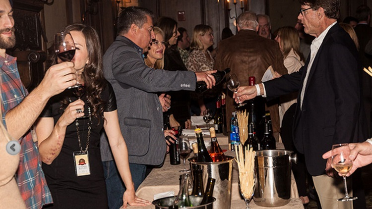 uncorked event at red white and snow