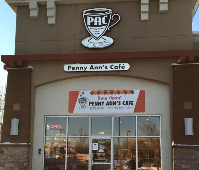 penny anns cafe new digs in Draper