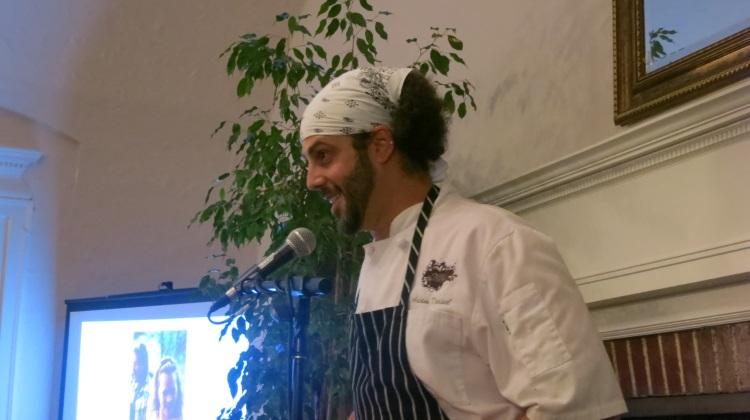 adam kreisel explains his dish