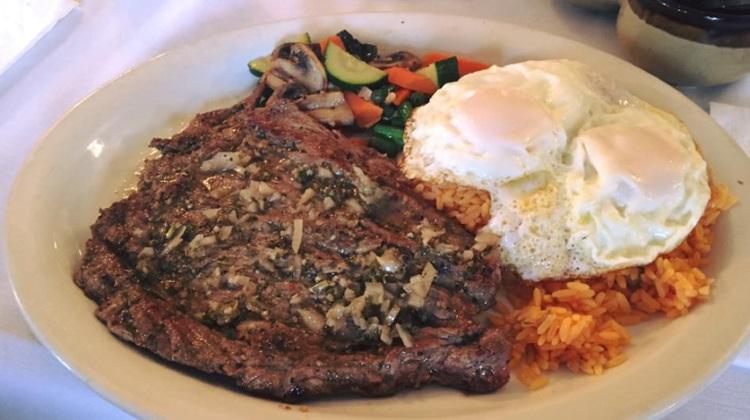 churrasco steak at la moon