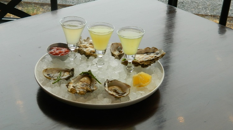 oysters at current