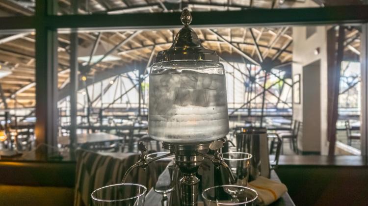 absinthe service at under current