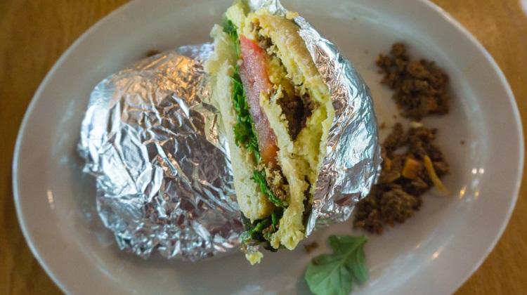 silverfork lodge chorizo sandwich