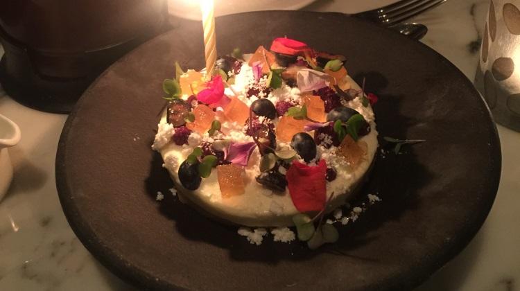 HSL - dessert, yes, yes it was my birthday