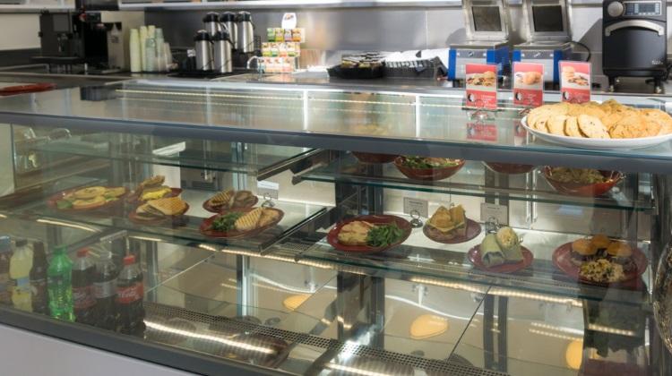 Encore Bistro: food counter