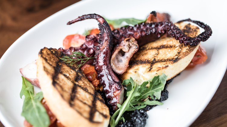 Spencer's For Steak And Chops - charred octopus