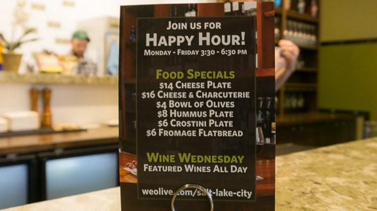 We Olive - happy hour