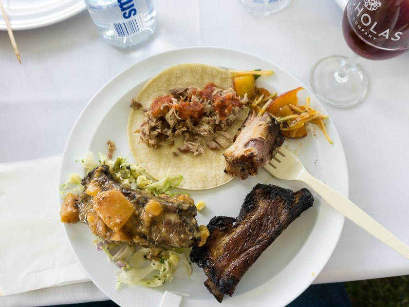 Taste Of The Wasatch 2016 - A mix of meat