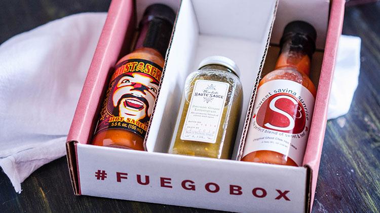 Fuego Box hot sauce subscription