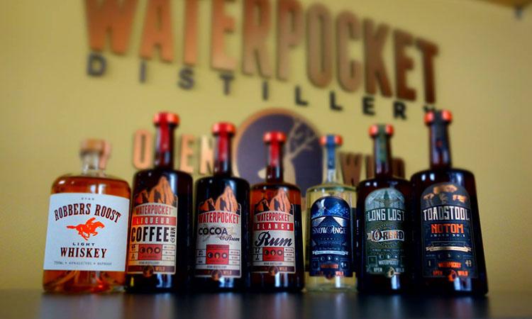 Waterpocket Distillery 2017 lineup