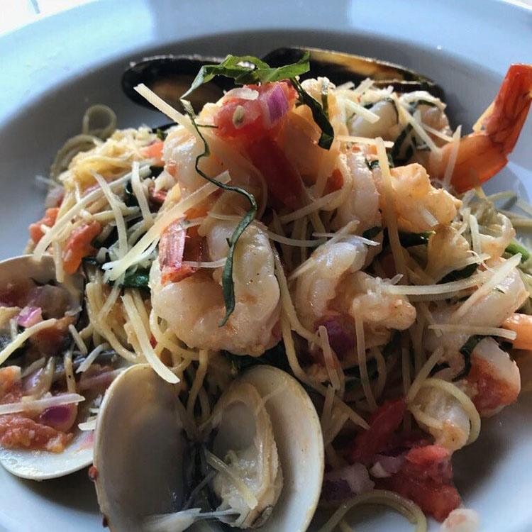 Cannellas seafood dish new for 2018. Credit Cannellas