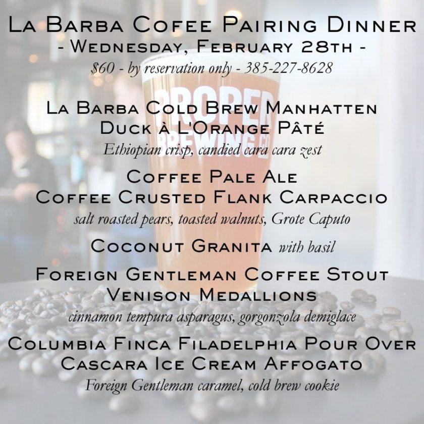 La Barba Avenues Proper dinner