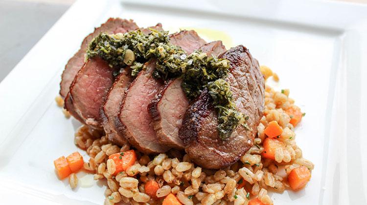 Avenues Proper - steak with farro (Avenues Proper)