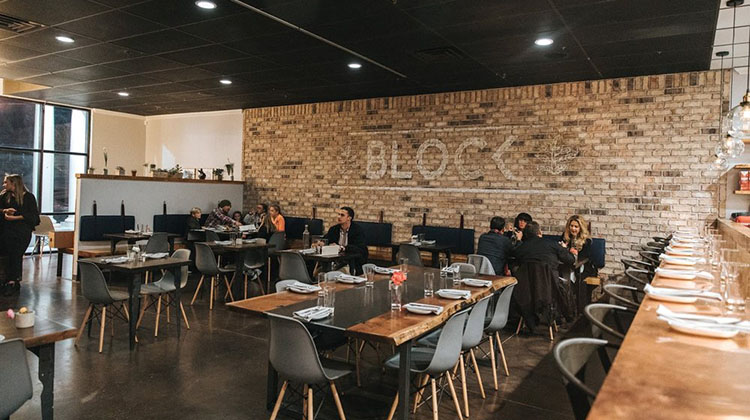 Block Restaurant - interior (Utah Grubs)