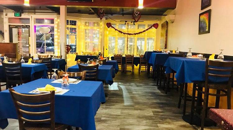 Mayuri Indian Grill - interior (Mayuri)