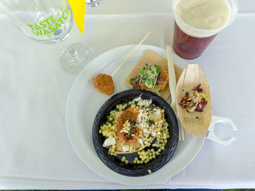 Taste Of The Wasatch 2017 - plate four or five if I recall