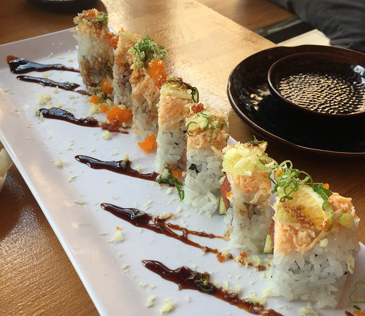 Fat Fish - maki roll from WVC location