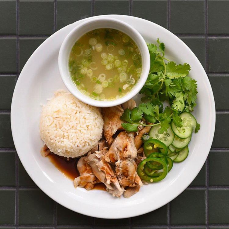 The Daily - chicken and rice (The Daily)