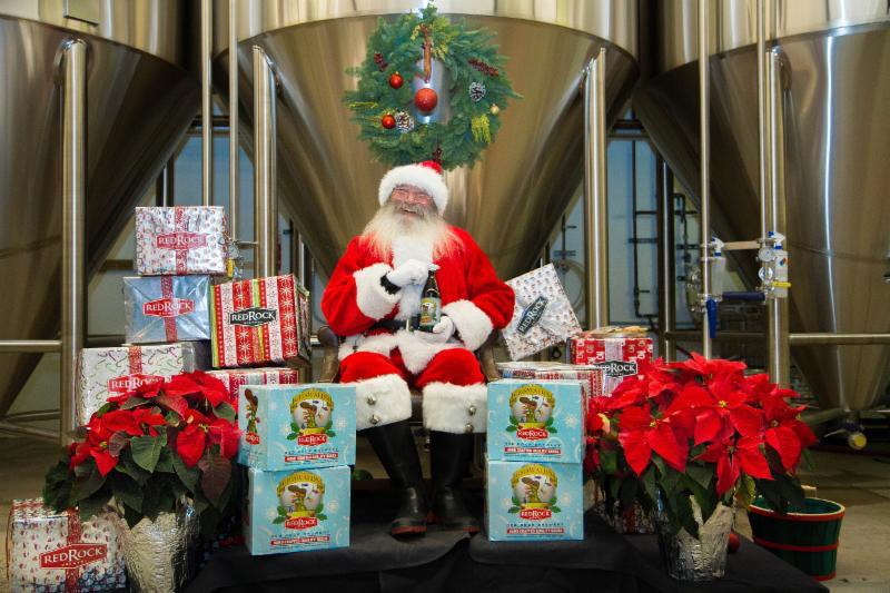 Meet Santa, drink beer, give gifts (Red Rock)
