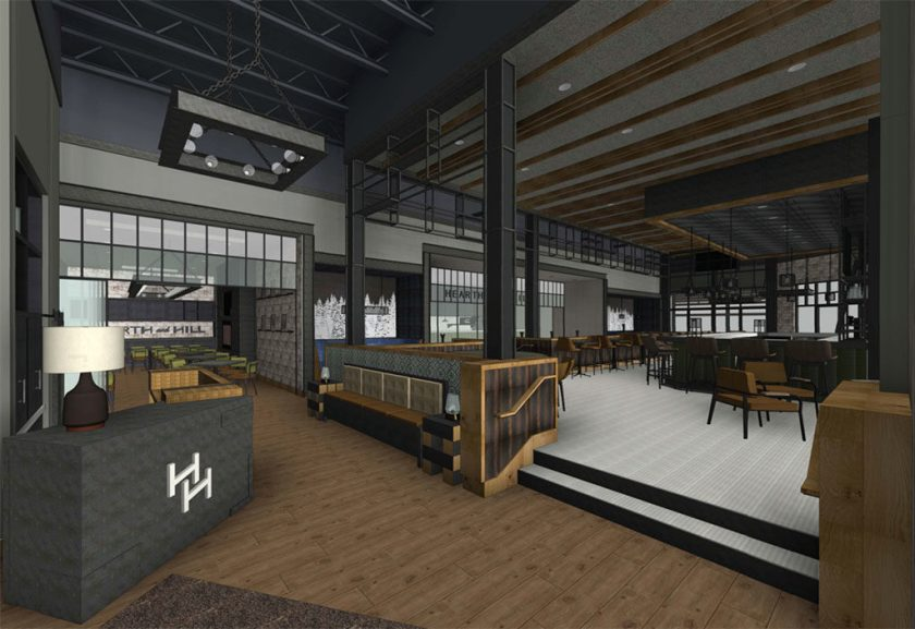 Interior rendering (Hearth And Hill)