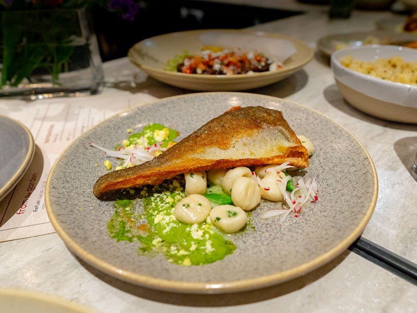 Hearth And Hill - trout with gnocchi